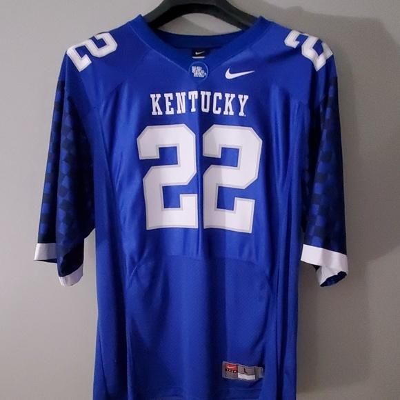 new arrival 9fd73 2d176 Kentucky Wildcats Nike Football Jersey